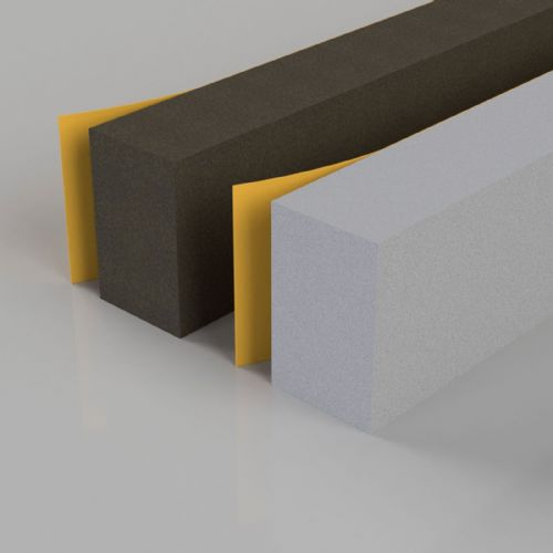 Self Adhesive Foam Seals (Brown 5 metres)